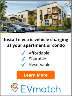Install electric vehicle charging at apartments or condos with EVmatch