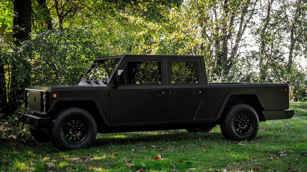 Bollinger Motors B2 electric pickup trucks