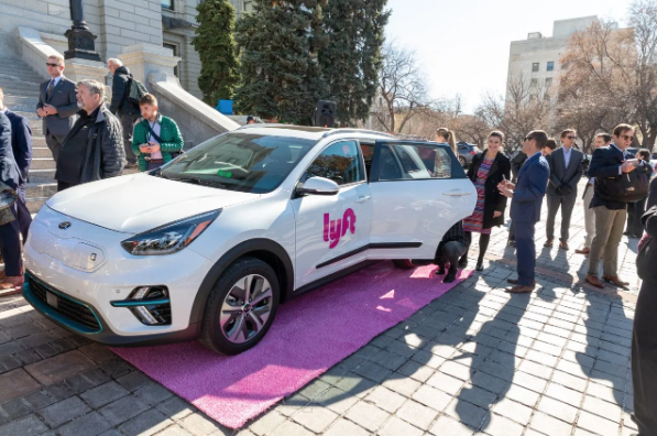 Lyft and Denver added 200 electric vehicles to the streets
