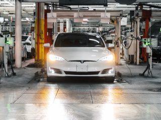 Tesla Model S Long Range with EPA estimated 402 mile range