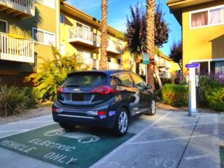 EV charging MUD CA