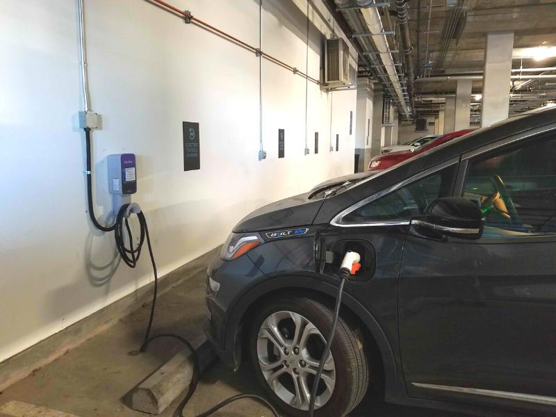 EV charging Revere Apartments