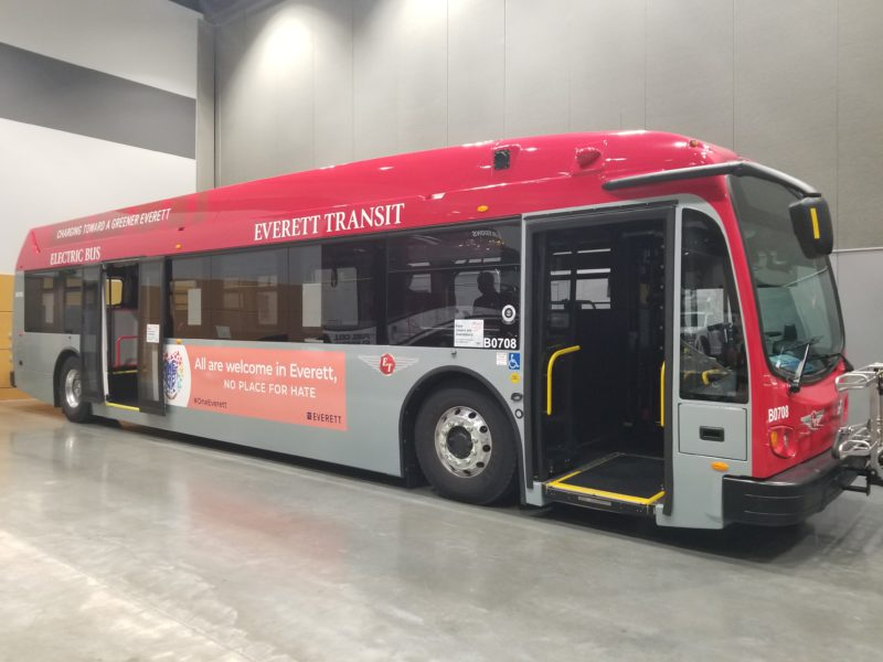 clean fleet bus